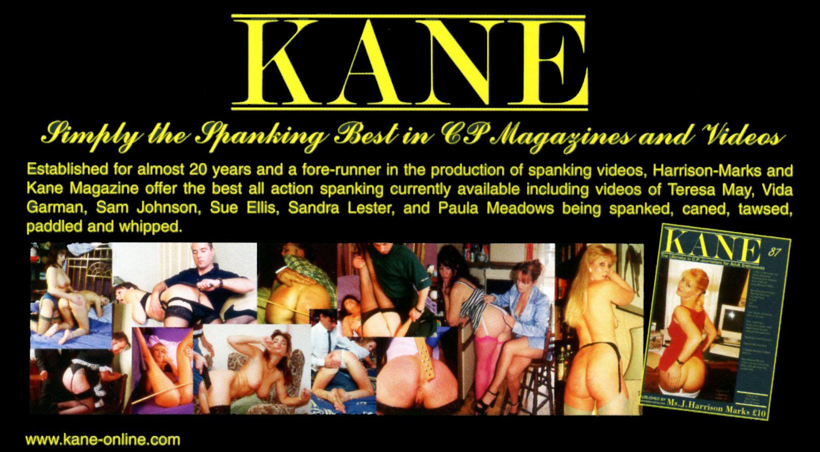 Kane Magazine by Harrision Marks