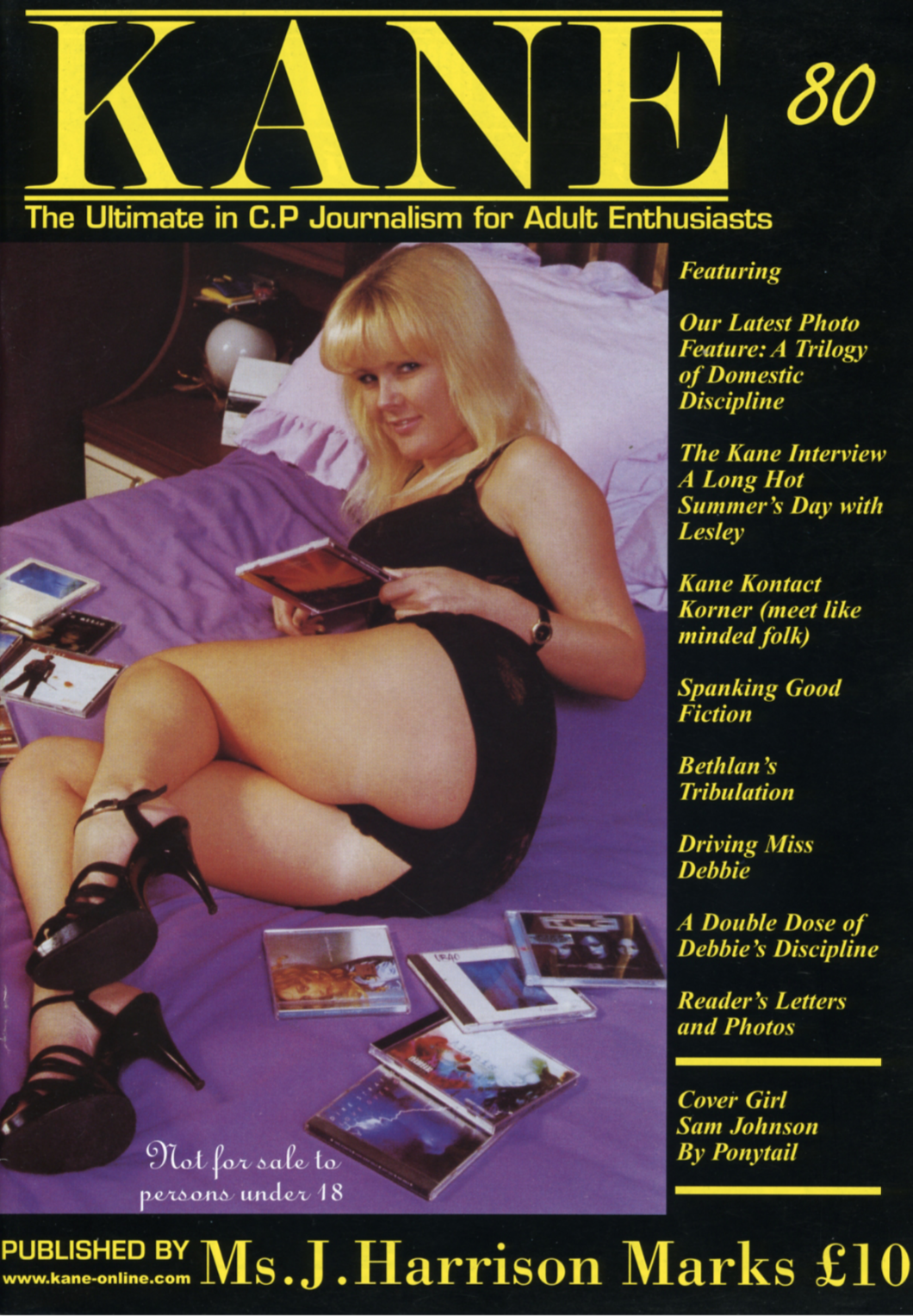 Kane Spanking Magazine 80 Sam Johnson